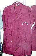 Малиновая куртка- вид спереди