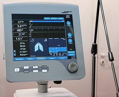 ИВЛ Hamilton- G5 (Hamilton Medical, Швейцария)