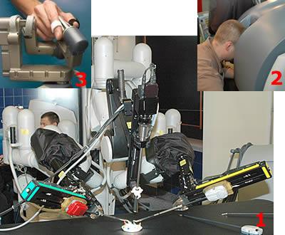 Хирургический робот Da Vinci (USA)