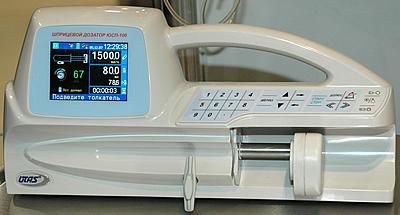 Шприцевой дозатор ЮСП- 100 (Utas, Украина) h