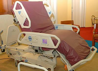 Функциональная кровать TotalCare SpO2RT (Hill-Rom, США)