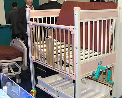 Детская кровать интенсивного ухода Dixion Neonatal Bed (Dixion, Россия- Китай)