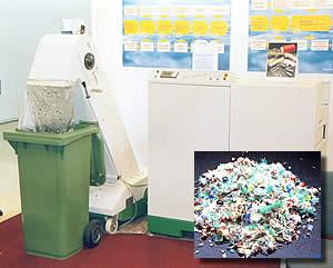 Обеззараживатель и уничтожитель больничных отходов Sterimed