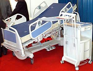 Кровать функциональная трехсекционная