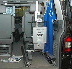 Портативные рентгеновские аппараты Atmos