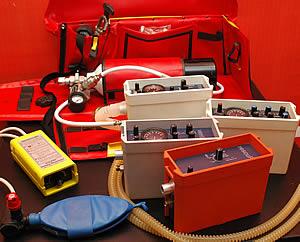 Портативные дыхательные аппараты  Berner Ross Medical