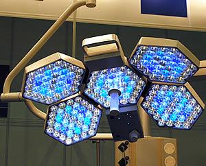 Уникальный операционный светильник от Trumpf
