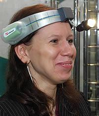 Налобный шлем- осветитель