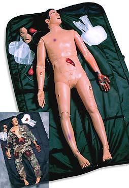 Манекен СЛР с модулями травмы FATMan